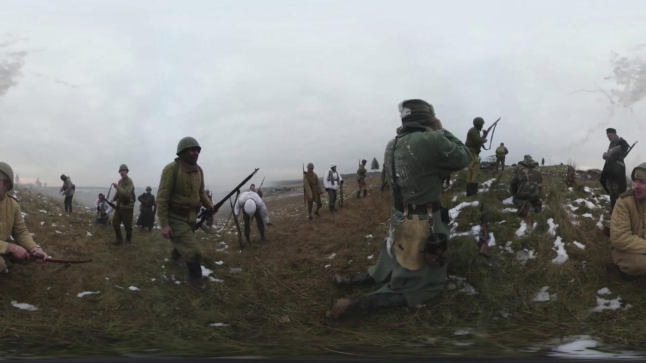 360°VR動画】 第二次世界大戦の歴史的戦闘を再現 REUTERS - YouTube