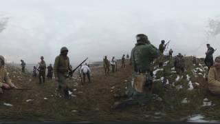 【360°VR動画】 第二次世界大戦の歴史的戦闘を再現 REUTERS