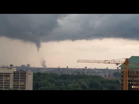 2019.08.09 Onweer in Amsterdam - Windhoos / Tornado
