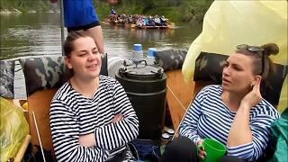 сплав река Серга июнь 2017