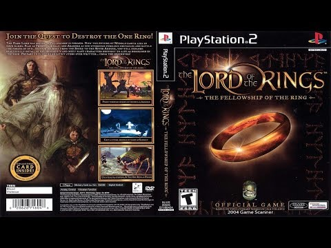 The Lord Of The Rings: Fellowship Of The Ring [PS2]