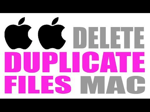 How To Delete Duplicate Files on a Mac
