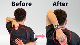 【初公開】簡単2分、肩が後ろに回らない方必見、肩の柔軟性を高める「烏口突起リリース」頭痛、首こり、肩こり、猫背、巻き肩にも効果的【大分市 腰痛治療家 GENRYU ( 安部元隆 )】