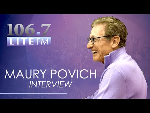 Lite FM Mornings - Maury Povich Reveals The Secret To His Show's Success