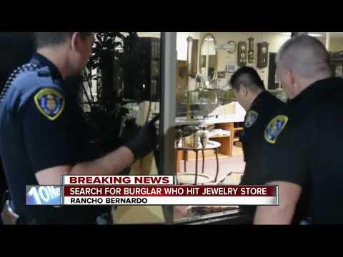 Rancho Bernardo jewelry store burglarized, vet clinic next door broken into
