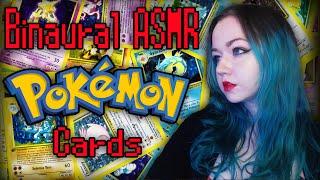 Binaural ASMR Pokemon Cards - First Experience