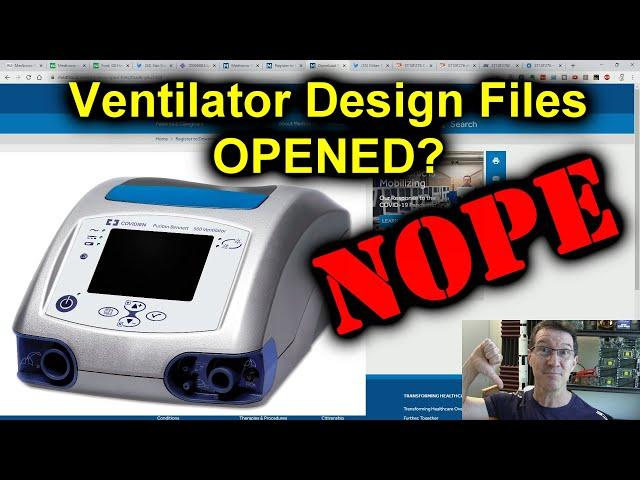 eevBLAB #72 - BUSTED! Medtronics Open Ventilator FAIL