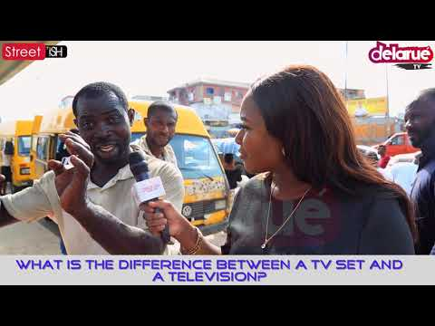 What Is The Difference Between a TV Set And a Television?