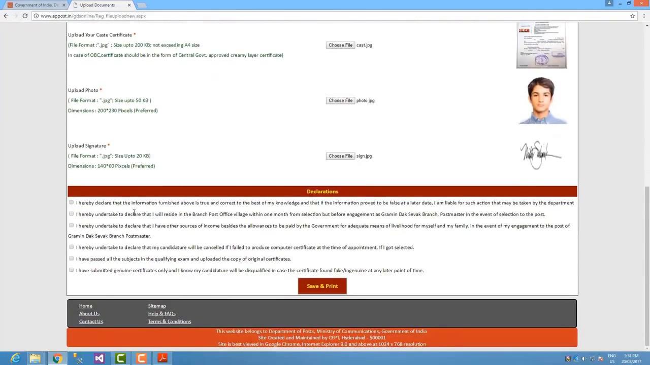 How to upload certificate in gramin dak sevak recruitment 2017 how to upload certificate in gramin dak sevak recruitment 2017 xflitez Gallery