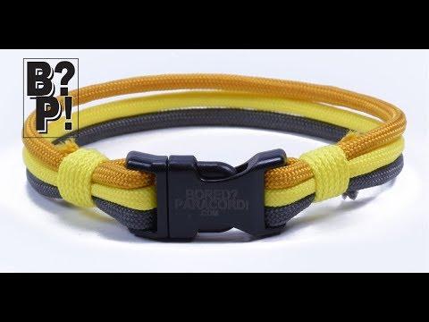 Make the TriColor Paracord Friendship Bracelet - BoredParacord.com