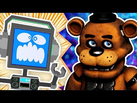 FREDDY FAZBEAR SONG (Five Nights At Freddy's) ► Fandroid #1 Hes A Scary Bear
