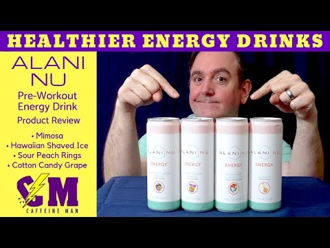 Healthy Energy Drink Product Review. Alani Nu Energy by Personal Trainer Katy Hearn