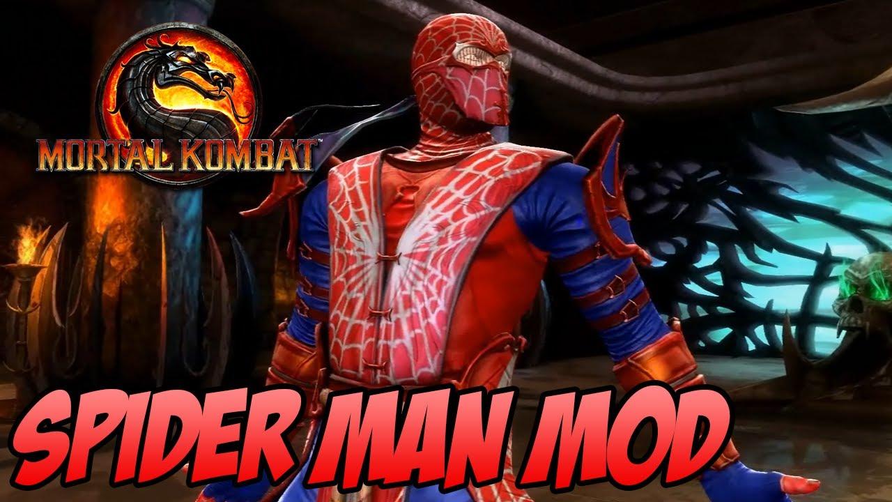 Mortal Kombat 9 PC - Spider Man MOD