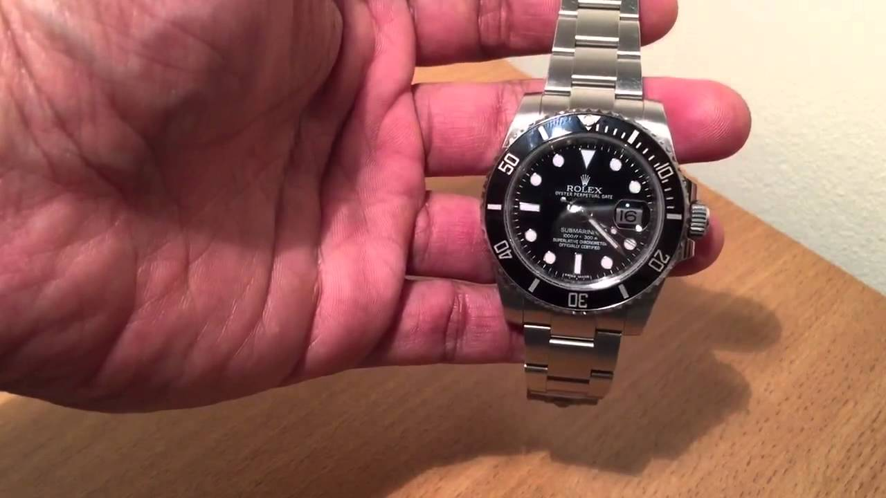 Review wristwatch Rolex Submariner 116610 Ceramic after 2 years of regular  wrist time