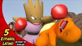 ¡Charmander Es Golpeado En La Cara! - Escuadrón Inicial (EP. 5) Español Latino. #pokemon #doblaje