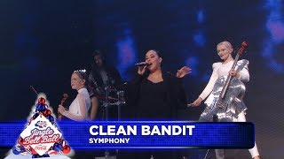 Скачать Clean Bandit Symphony FT Zara Larsson Live At Capital S Jingle Bell Ball