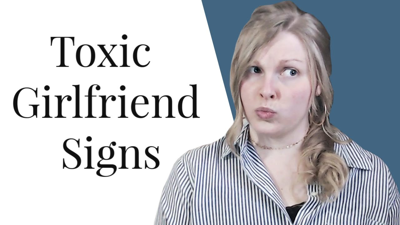 Woman signs is toxic a 5 Signs