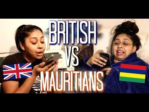 BRITISH VS. MAURITIANS ! (Creole)