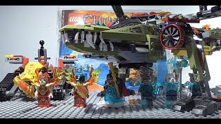 Lego Chima King Crominus' Rescue Review! 70227! Summer 2015!