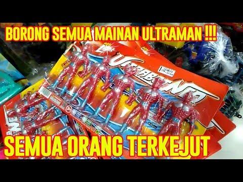 BORONG SEMUA MAINAN ULTRAMAN DI TOKO | Ultraman Zero, Ultraman Orb