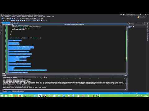 C# [Deutsch/Full-HD] {Tutorial} BarCode Cleaner