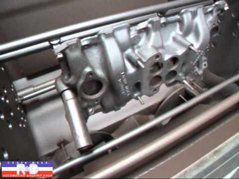 327 4V Intake Manifold Thermal Clean