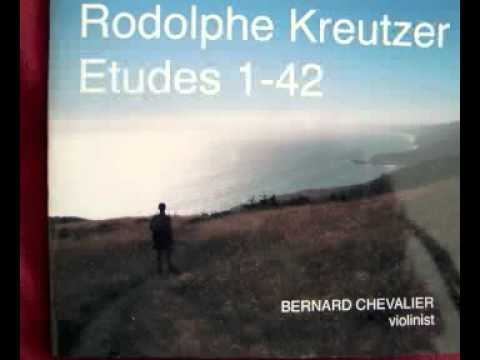 Etude #8 for solo violin by Rodolphe Kreutzer (1766-1831)