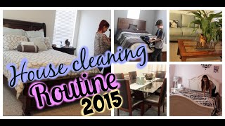 House Cleaning Routine 2015