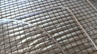 Раскладка теплого пола(Укладка теплого пола улиткой. Труба Valtec металлопласт, с использованием пружины. Пленка Изоспан FS, утеплител..., 2015-01-11T17:04:31.000Z)