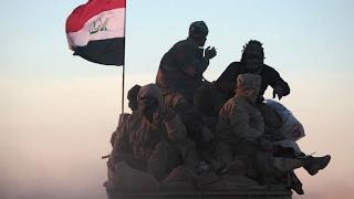 قوات الشرطة الاتحادية تصل إلى حاجز العقرب بوابة الموصل