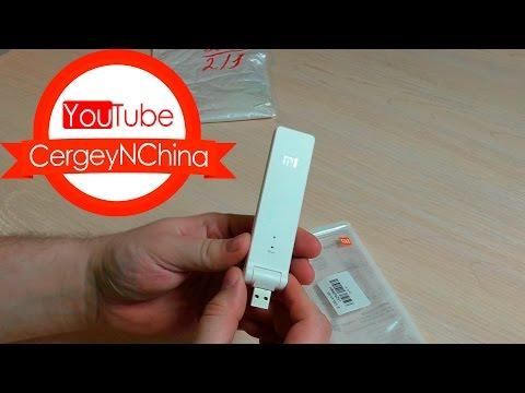 XiaoMi Mi WiFi Amplifier Усилитель WiFi без усиления