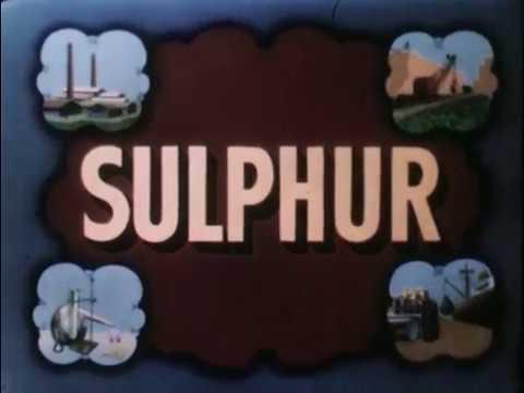 Geology - Sulphur (Texas Gulf Sulphur Company)