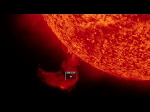 Solar Flare/CME reveals a invisible 'Ship/Object' parked under the Sun!