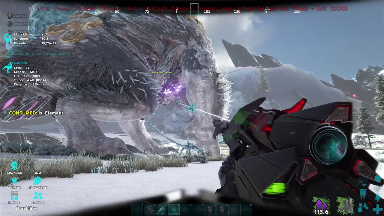 Steam Toplulugu Video Taming The Ice Titan And Raiding With It Learn all there is to know about raptorclaus and studio wildcard. steam community