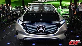 مرسيدس جينيريشن EQ - معرض باريس للسيارات 2016