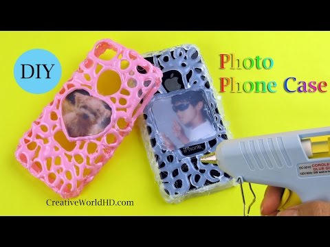 DIY: How to Make Photo Phone Case With Hot Glue Gun by Creative World