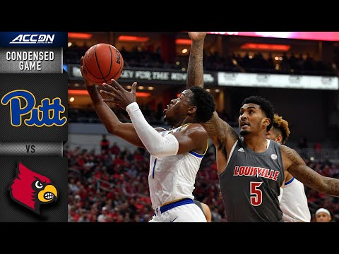 Pittsburgh Vs. Louisville Condensed Game | 2019-20 ACC Men's Basketball