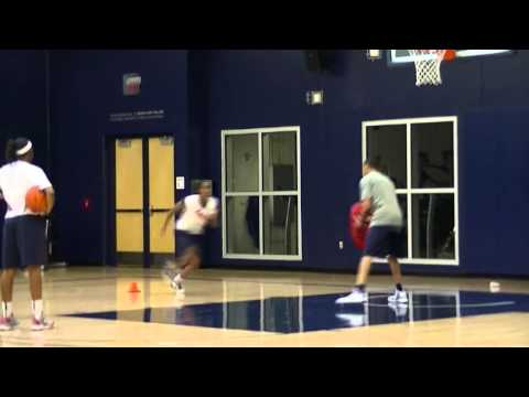 2013 Arizona Women's Basketball Post Workout 8-30-13