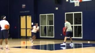 2013 Arizona Women's Basketball Post Workout 8-30-13