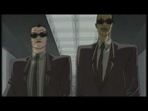 Introduction of Men in Black Cartoon Show