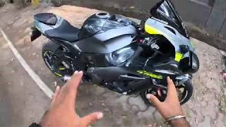 Rented KAWASAKI Zx10r for Rs 4/KM ?