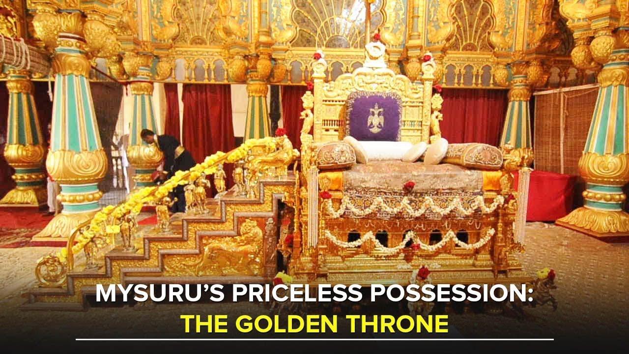 The Golden Throne Of Mysuru Wadiyars