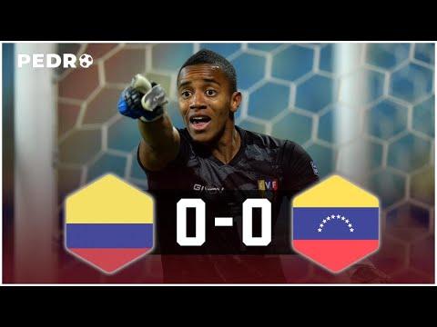 PARTIDAZO de WUILKER FARIÑEZ Vs COLOMBIA 0-0 VENEZUELA
