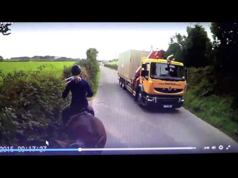 Horse Riding In The UK - Death Sport - But They Follow The Law & Wear A Helmet