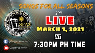 Songs for all Seasons Live Worship Jam || 03-01-2021