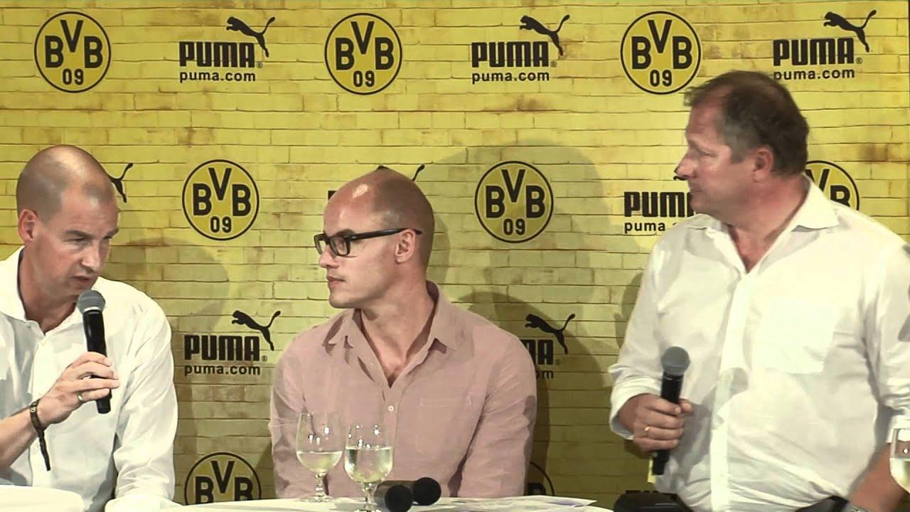 Gesprächsrunde mit Klopp & Co. zum neuen BVB Puma Trikot 2012 (Borussia Dortmund