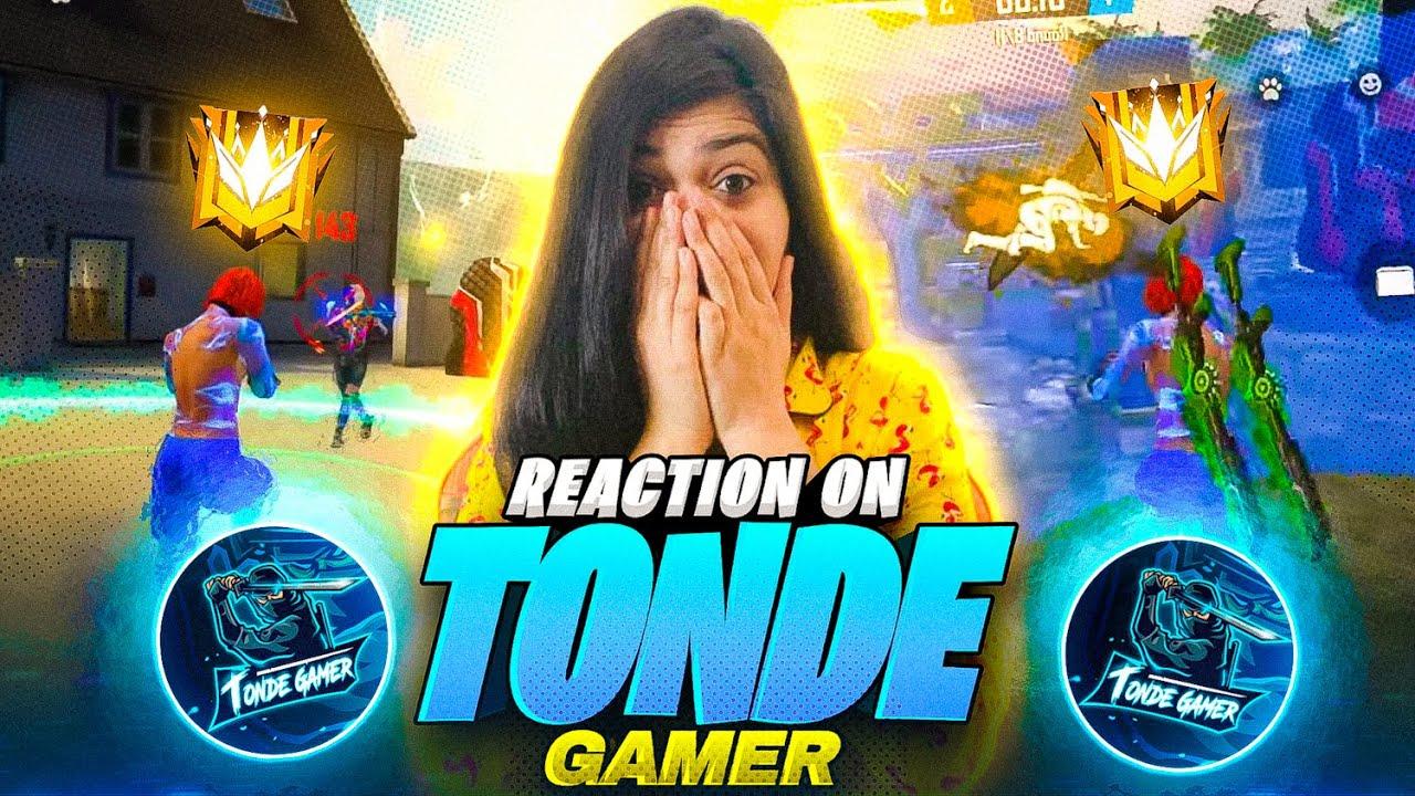Reaction On Tonde Gamer    Nepal Best Player    Garena Free Fire    Bindass Laila