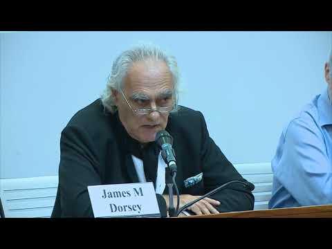 Dr. James M Dorsey, Nanyang Technological University, Singapore