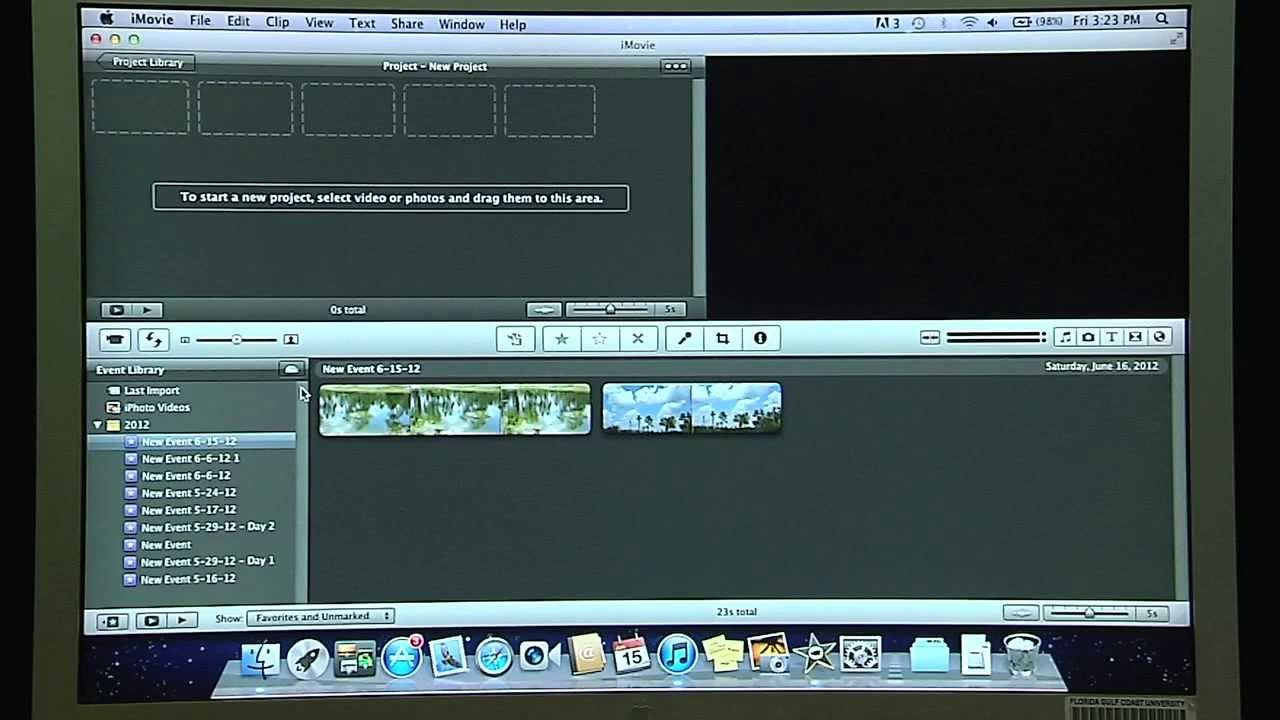 software camara sony handycam para mac