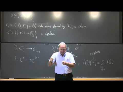 Cohomology for computer science - Alex Lubotzky